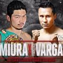 """Takashi Miura defiende título WBC contra el """"Bandido"""" Vargas"""