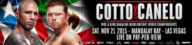 Cotto-Canelo Preliminary Undercard 11/21