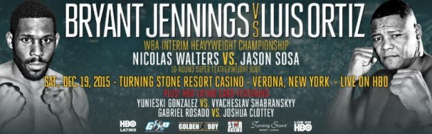 BRYANT JENNINGS VS. LUIS ORTIZ TICKETS ON SALE TODAY!