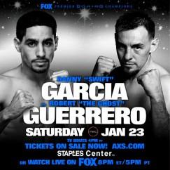 DANNY GARCIA VS- ROBERT GUERRERO CONFIRMADO PARA SER PARTE DEL TORNEO WELTER DEL WBC