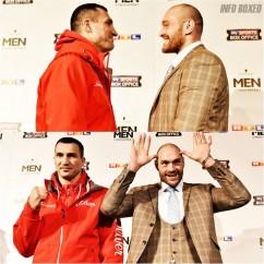 Conferencia de prensa final: Wladimir Klitschko- Tyson Fury.