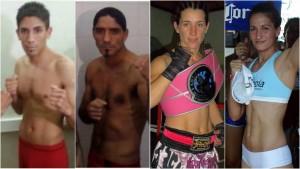 Doble estelar en Venado Tuerto: Alan Luques Castillo vs. Javier Chacón y Laura Griffa vs. Marisa Portillo
