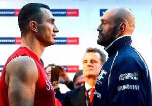 Pesaje Oficial en Alemania: Wladimir Klitschko 245.3 lbs vs Tyson Fury 246.4 lbs