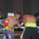 """En candente combate,  Sergio """"Tama"""" Torres vence por decisión unánime a Iván """"Gato"""" López"""