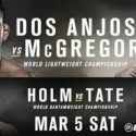 UFC 197 features two title fights in Las Vegas on March 5
