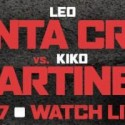 Leo Santa Cruz to defend featherweight title against former world champion Kiko Martinez on Saturday, Feb. 27