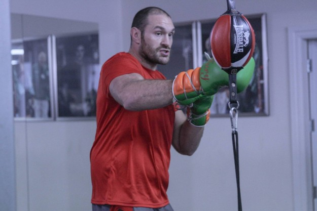 Medical conditions force Tyson Fury out of Klitschko on the 29th October
