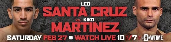 Gerald Washington-Oscar Rivas Feb. 27 On Showtime At Honda Center