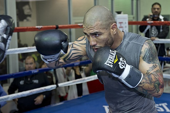 Boxing 2012: Miguel Cotto Media Workout NOV 19