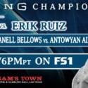 Alexis Santiago takes on Erik Ruiz in main event of PBC toe-to-toe Tuesdays on FS1
