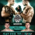 WSOF28: Two New Bouts Complete Main Card For February 20