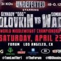 Boxeo Mundial para hoy sábado 23-04-2016