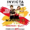 Invicta Fc returns to Las Vegas on March 11, tickets on sale Friday