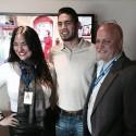 Gilberto Ramirez visita Univision Radio en Los Angeles
