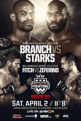 WSOF30: New NBCSN Start Time, Prelim Card Finalized With Six Fights