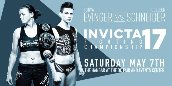 Livia Renata Souza battles Angela Hill for strawweight title at Invicta FC 17 on May 7