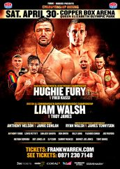 WEIGHTS from Copper Box Arena