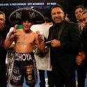 Diego de la hoya defendió título juvenil WBC