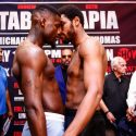 Tabiti, Tapia Nearly Come To Blows At ShoBox Weigh-In