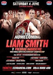 Liam 'Beefy' Smith assesses the rival 154lb champions