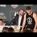 Video: Rockhold vs Bisping 2 final presser