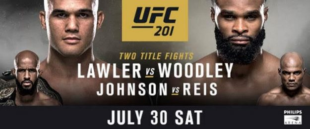 What's on the minds of the stars of UFC® 201?