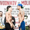 Official Weigh-in: Ruslan Provodnikov 140 vs. John Molina 140