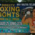 'Richy' Rodríguez / El mayagüezano verá acción este sábado 25 de junio en su pueblo natal