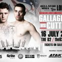 McGregor teammate James Gallagher to face Mike Cutting at Bellator: London on July 16