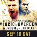 UFC 203: MIOCIC VS OVEREEM ON-SALE
