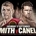 Smith to defend world crown against Mexican superstar Canelo Alvarez in America