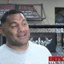 Video: Mark Hunt- I envision punching Brock Lesnar in the face and him flying out the octagon