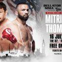 Matt Mitrione vs. Oli Thompson Official for 'Bellator: London' July 16