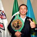 Gennady Golovkin en la ciudad de méxico para recibir corona WBC