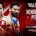 Benson Henderson-Patricio 'Pitbull' earn top billing at 'Bellator 160' AUG. 26 at Honda Center in Anaheim