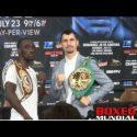 Video: Terence Crawford vs. Viktor Postol Final Pre fight Press Conference