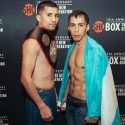 Official Weigh-in: Adam Lopez 121lbs vs. Roman Reynoso 121lbs