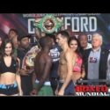 Video: Official Weigh-in: Terence Crawford 140 vs. Viktor Postol 139.5