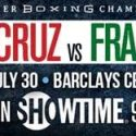 Leo Santa Cruz & Carl Frampton kick off fight week with Empire State Building faceoff