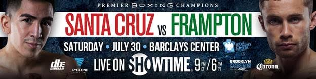 4b2c3627 Leo Santa Cruz vs. Carl Frampton Fight Week Media Workout Quotes ...