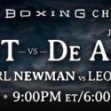 Caleb Plant Battles Juan De Angel in Main Event of PBC TOE-TO-TOE TUESDAYS on FS1 & BOXEO DE CAMPEONES on FOX Deportes Tuesday, August 23
