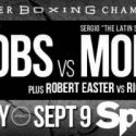 Daniel Jacobs Takes On Former World Champion Sergio Mora in Rematch That Headlines PBC on Spike Friday, September 9