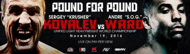 Chilemba vs. Gvozdyk is on for Kovalev-Ward PPV Undercard