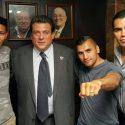 Marcos Villasana, Jr. y Carlos Molina / 'Locos' por subir al ring este sábado