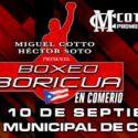 Puerto Rico / Pesaje oficial 'Boxeo Boricua en Comerío'