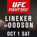 Dynamic Bantamweights Lineker and Dodson to Headline UFC Portland