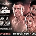 Frank Warren announces Huge Eubank Jr v Langford and Williams v Patterson double header at Cardiff's Motorpoint Arena on oct 22nd