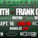 Ishe Smith Camp Notes: My main opponent on September 16 is myself