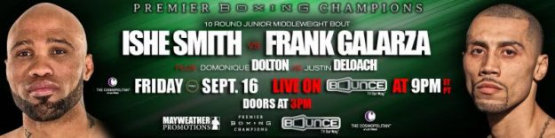 Alexis Santiago Takes On Mexico's Jose Cayetano Friday, Sept. 16 in PBC: The Next Round on Bounce TV