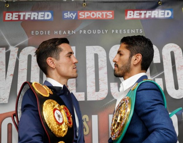 Crolla – Linares start time 2:30 PM ET this Saturday on AWE and www.klowdtv.com